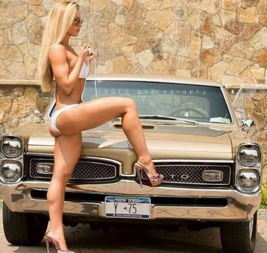 豪车与辣妹