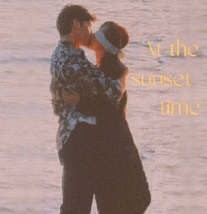 杨紫井柏然海边接吻?简直不要太浪漫!